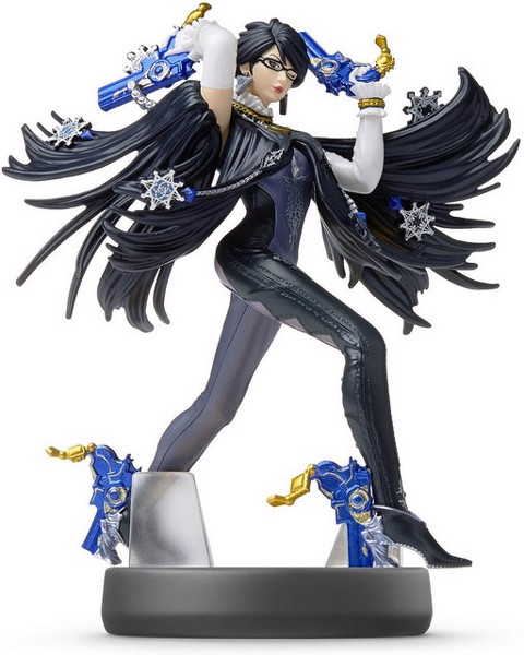 BAYONETTA AMIIBO SUPER SMASH BROS SERIES