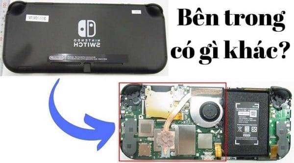 máy Nintendo Switch Lite có gì khác bên trong