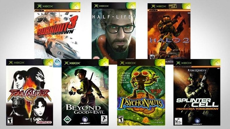 Best Original Xbox Games Cover Art Boxes