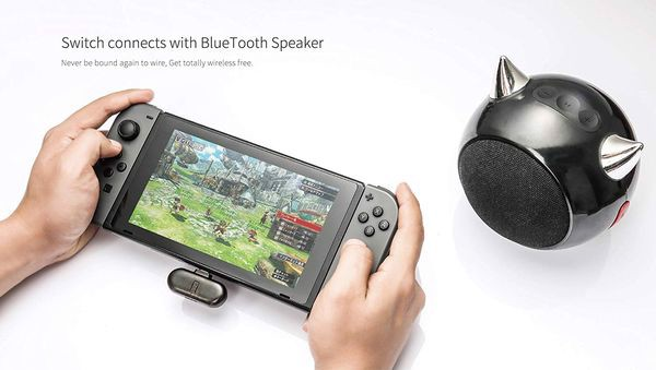 Bluetooth adapter gulikit route + pro Nintendo Switch chất lượng cao