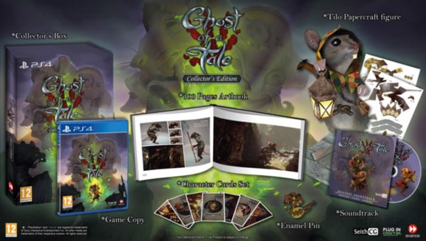 box art Ghost of a Tale nintendo switch