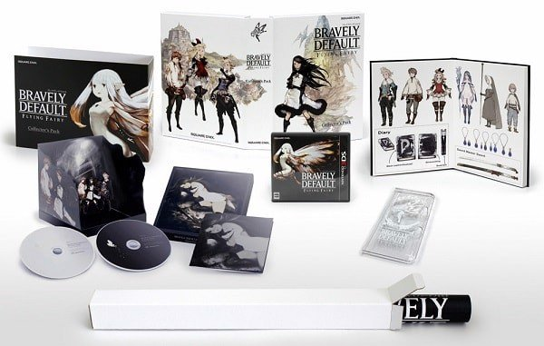 bravely default collectors pack