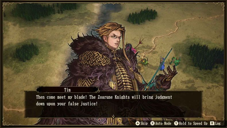 Brigandine The Legend of Runersia nintendo switch custom