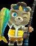 C.J trong Animal Crossing New Horizons