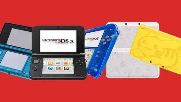 Các dòng máy game cầm tay Nintendo chơi Pokémon