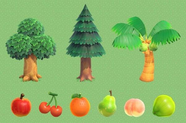 Các loại cây trong Animal Crossing New Horizons