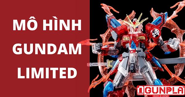 Các mẫu mô hình Gundam Limited đã restock tại nShop