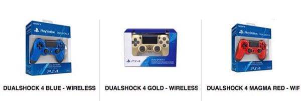 Các mẫu tay cầm PS4 chơi PC bán tại nShop