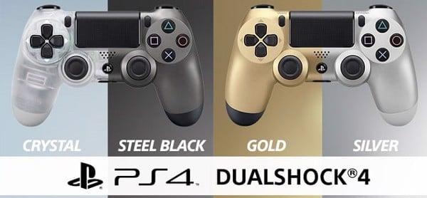 các mẫu tay cầm PS4 Pro và Slim