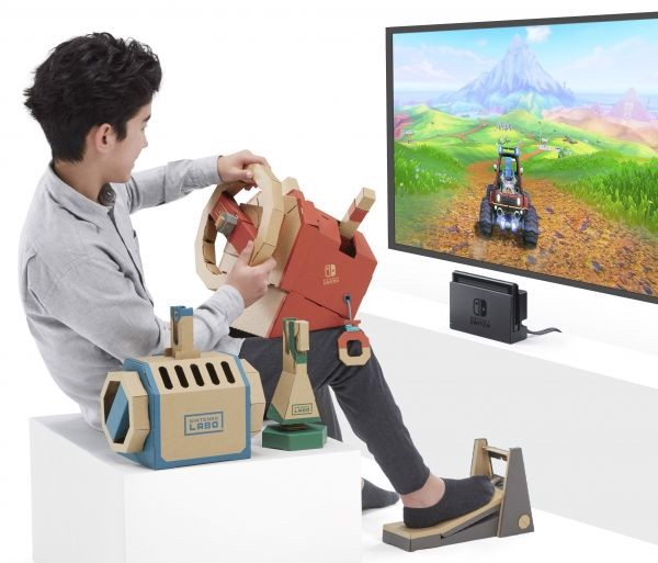 cách chơi Nintendo Labo Toy-con 03 Vehicle Kit Nintendo Switch