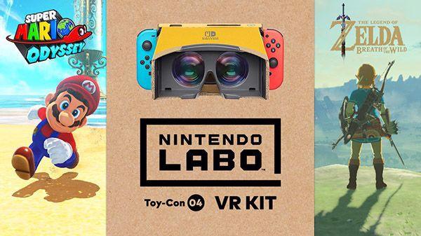 cách chơi Nintendo Labo VR Kit Nintendo Switch