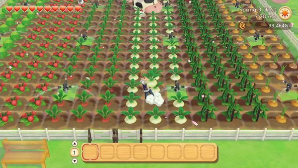 cách chơi Story of Seasons Pioneers of Olive Town Nintendo Switch