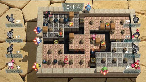 cách chơi Super Bomberman R Shiny Edition PS4