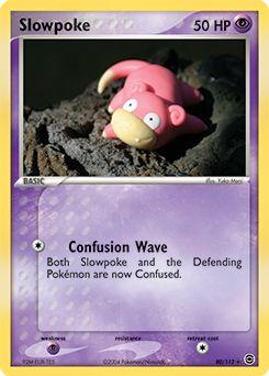 cách chơi Thẻ Pokemon Slowpoke
