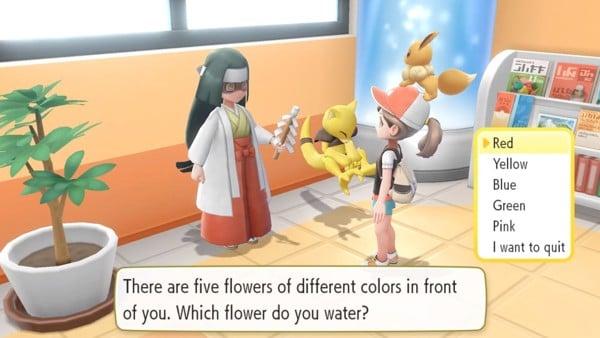 Cách chọn Nature Pokemon trong Lets Go Pikachu Lets Go Eevee