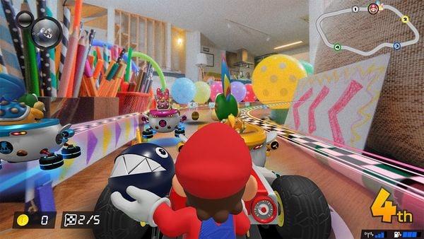 cách đua Mario Kart Live Home Circuit Mario Version