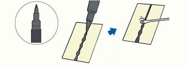 cách dùng bút kẻ chảy gundam marker