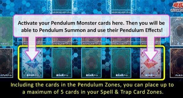 cách dùng pendulum monster trong yugioh