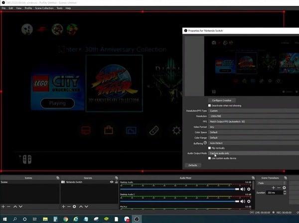 Cách kết nối Nintendo Switch với Laptop PC livestream