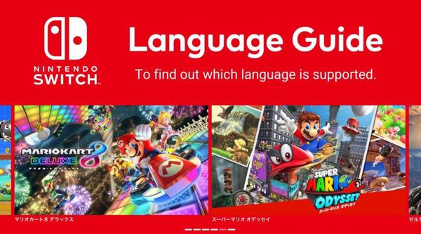 cách kiểm tra ngôn ngữ game nintendo switch chính hãng