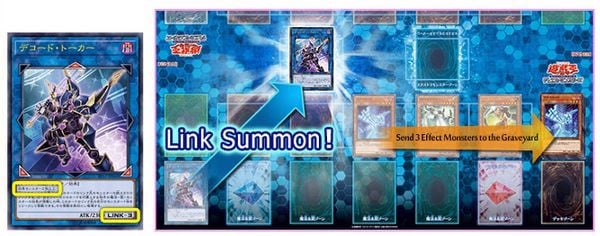 cách link summon link monster yugioh