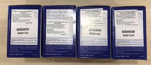 cách kiểm tra tay cầm PS4 chính hãng qua tem nhãn thông tin