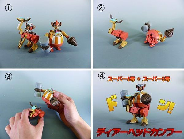 cách ráp Chopper Robo Super One Piece