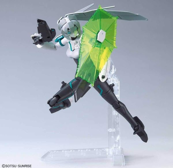 cách ráp Mobile Doll May Gundam Build Divers Re RISE HGBDR