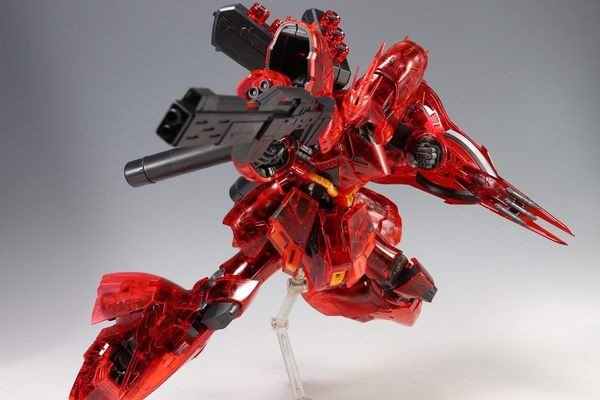 cách ráp Sazabi Clear Color RG gundam real