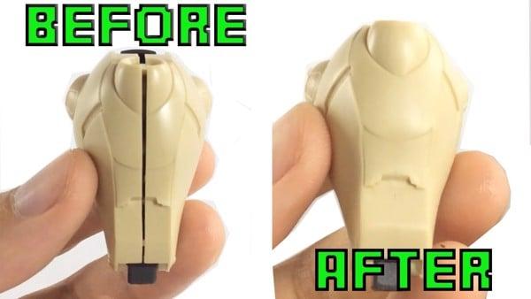 Cách sửa mô hình Gundam bị gãy bằng keo dán gundam