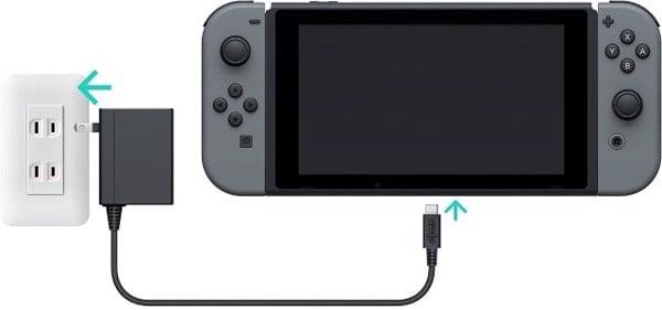 cắm sạc Nintendo Switch