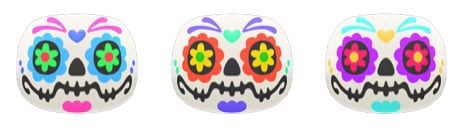 Candy Skull-Mask trong Animal Crossing New Horizons