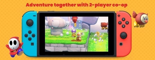captain toad update chơi 2 người