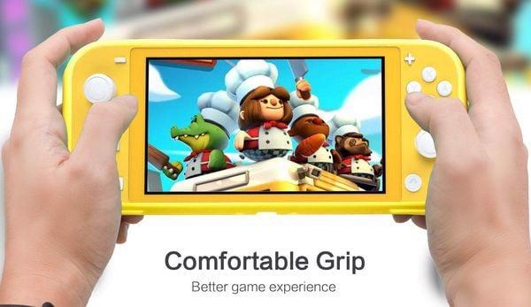Case TPU cho Nintendo Switch Lite chơi game thoải mái