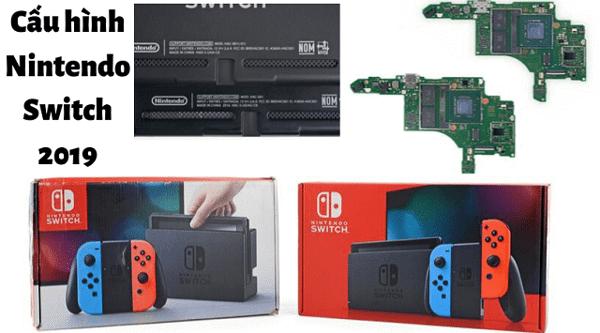 cấu hình Nintendo Switch 2019