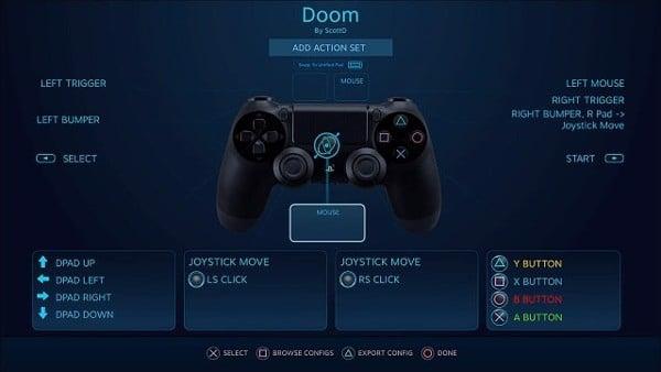 thiết lập cấu hình tay cầm PS4 chơi trên PC