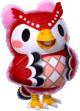Celeste trong Animal Crossing New Horizons