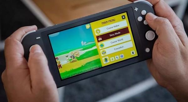 chế độ cầm tay tiện lợi hơn Switch Lite