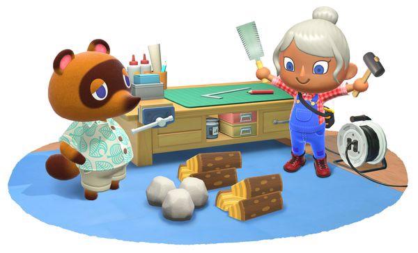chế đồ diy Animal Crossing New Horizons