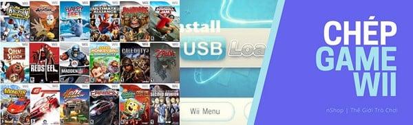 Dịch vụ chép game cho máy Nintendo Wii