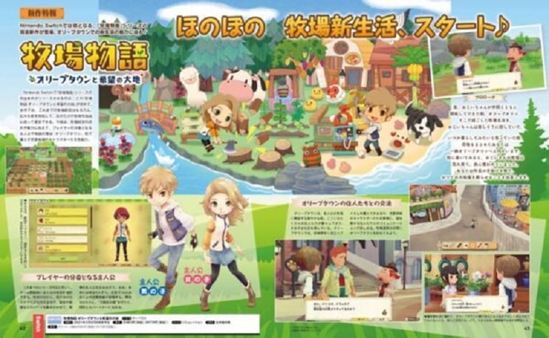 chi tiet game Story of Seasons Pioneers Of Olive Town