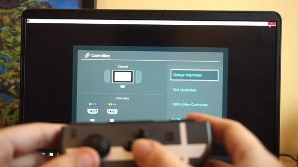 Chơi game 2 người Nintendo Switch bằng Laptop