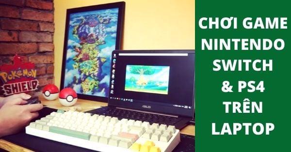 Chơi game nintendo Switch và PS4 trên Laptop với Capture Card USB