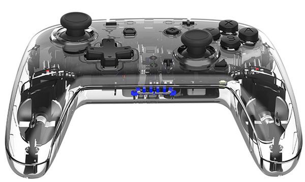 chơi game Tay cầm Pro Controller trong suốt IINE PMW Nintendo Switch