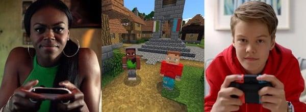 chơi game minecraft trên Nintendo Switch hấp dẫn