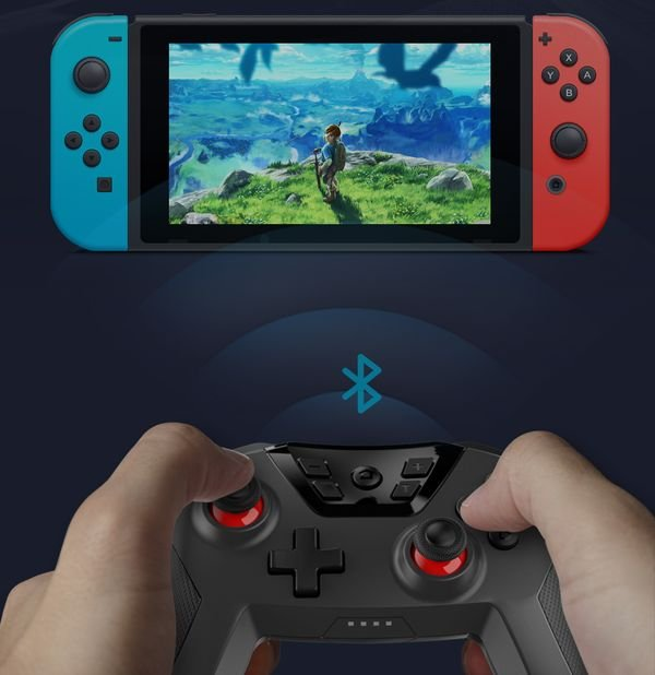 chơi thử Dobe Wireless Controller Nintendo Switch PC