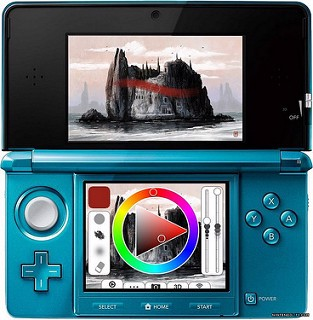 The program for drawing on 2DS and 3DS