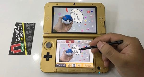 Chụp ảnh và quay phim trên máy 2DS và 3DS