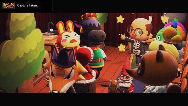 chụp hình Animal Crossing New Horizons
