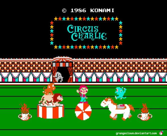 Circus Charlie nes